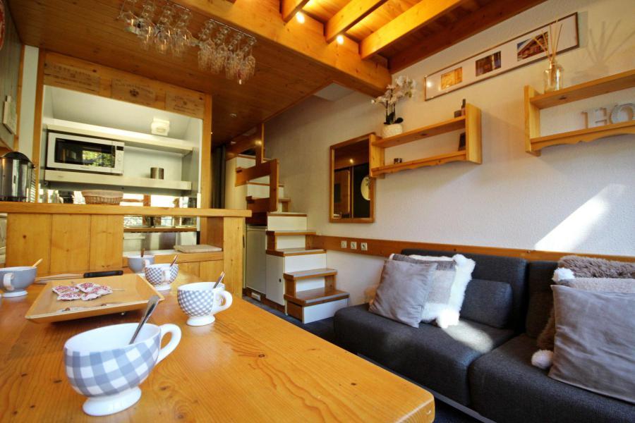 Wynajem na narty Apartament duplex 2 pokojowy 6 osób (214) - La Résidence Alliet - Les Arcs - Stołem