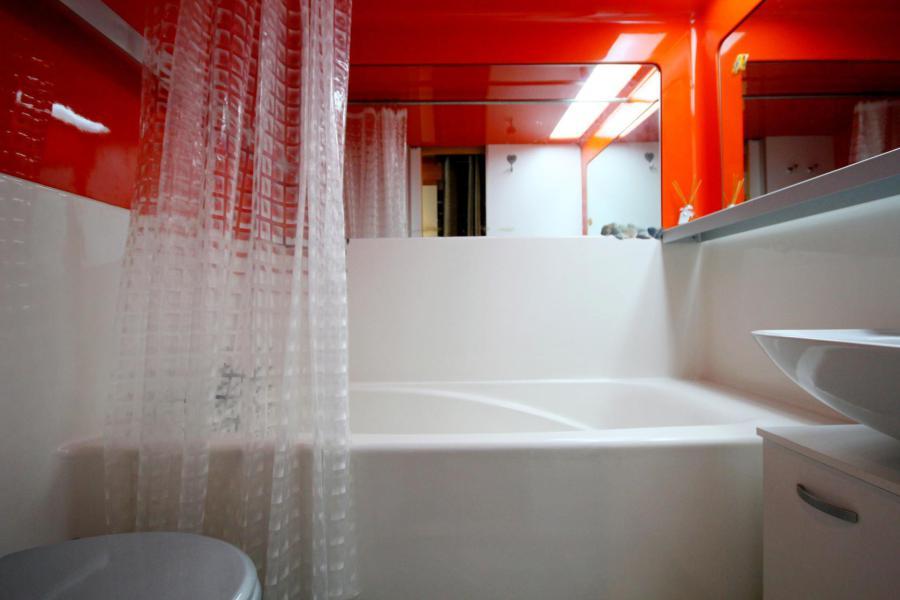 Wynajem na narty Apartament duplex 2 pokojowy 6 osób (214) - La Résidence Alliet - Les Arcs - Wanną