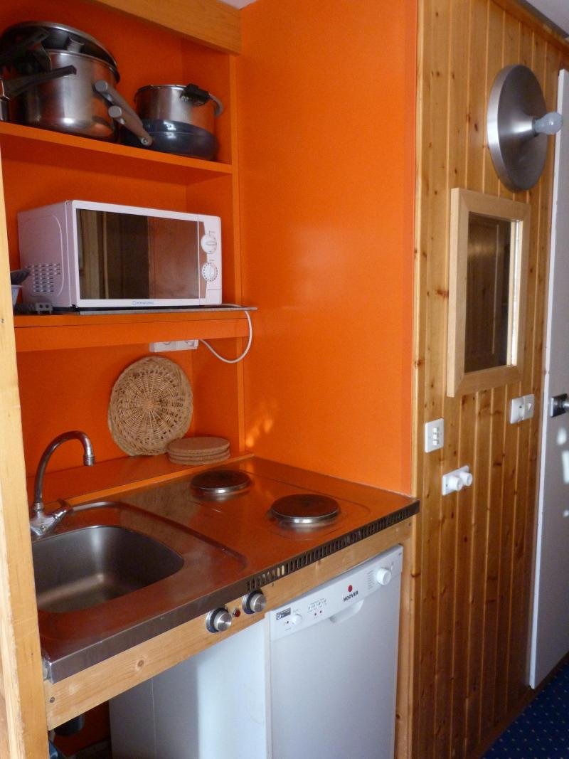Location au ski Studio coin montagne 4 personnes (121) - La Residence Grand Arbois - Les Arcs - Kitchenette