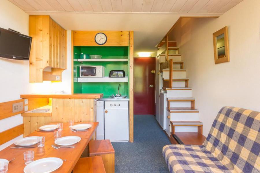 Verleih Wohnung 2 Mezzanine Zimmer 6 Leute (420) in Les Arcs 1800 ...