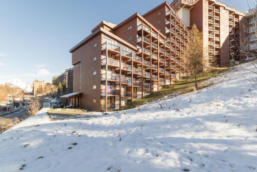 Vakantie in de bergen La Résidence l'Armoise - Les Arcs - Buiten winter