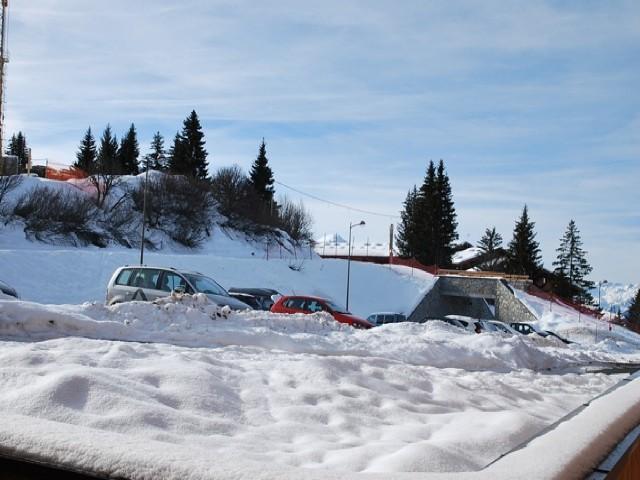 Location au ski Appartement 2 pièces cabine 5 personnes (29 C) - La Residence L'iseran - Les Arcs - Extérieur hiver