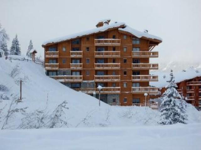 Wynajem na narty Apartament 5 pokojowy 8 osób (44) - La Résidence l'Iseran - Les Arcs - Zima na zewnątrz