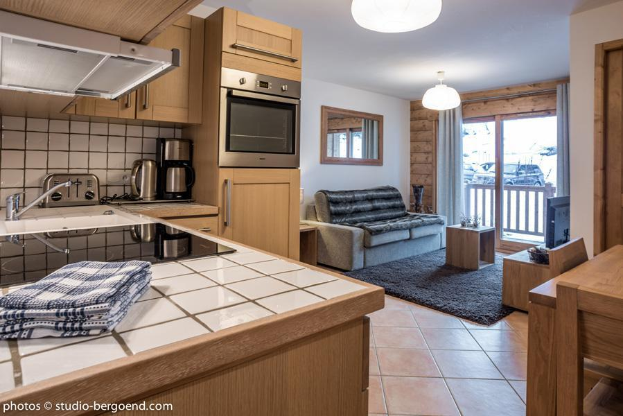 Wynajem na narty Apartament 3 pokojowy 6 osób (24) - La Résidence l'Iseran - Les Arcs