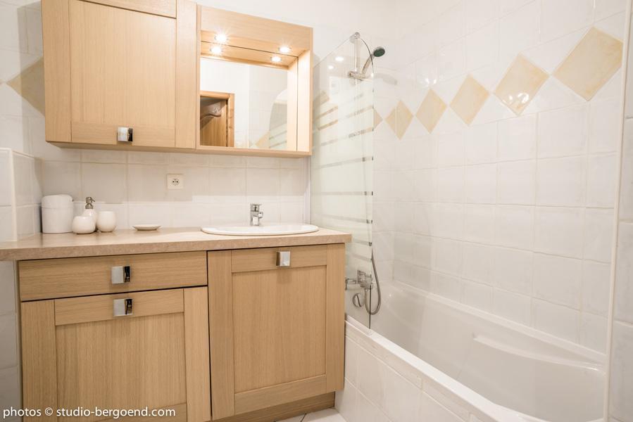 Wynajem na narty Apartament 2 pokojowy kabina 5 osób (30) - La Résidence l'Iseran - Les Arcs - Łazienka