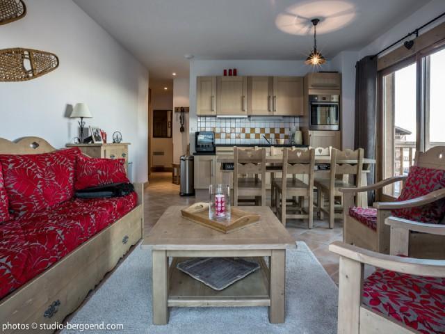 Wynajem na narty Apartament 3 pokojowy 6 osób (02) - La Résidence l'Iseran - Les Arcs - Apartament