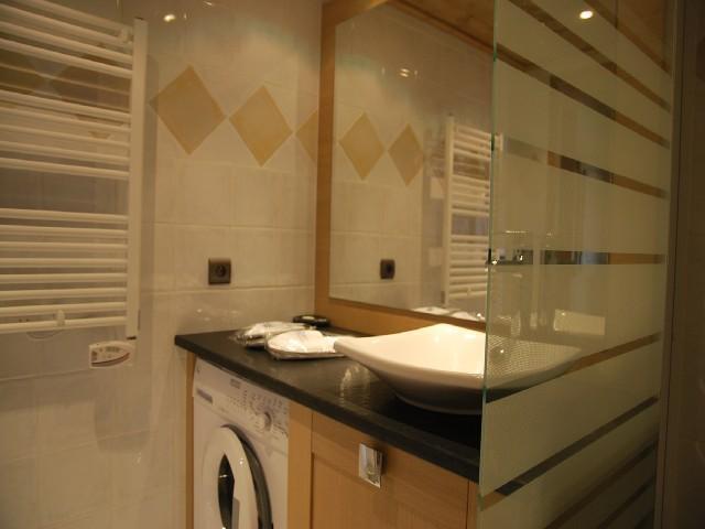 Wynajem na narty Apartament 3 pokojowy 6 osób (14B) - La Résidence l'Iseran - Les Arcs - Pralką