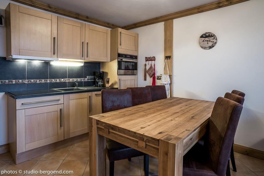 Wynajem na narty Apartament 3 pokojowy 7 osób (18B) - La Résidence l'Iseran - Les Arcs - Apartament