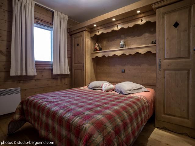 Wynajem na narty Apartament 3 pokojowy 7 osób (18B) - La Résidence l'Iseran - Les Arcs - Pokój