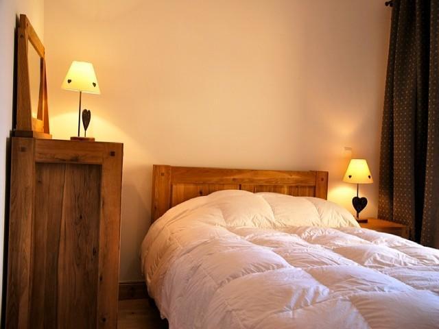 Location au ski Appartement 2 pièces cabine 5 personnes (29 C) - La Residence L'iseran - Les Arcs - Chambre