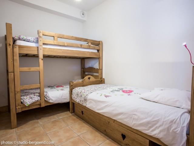 Location au ski Appartement 2 pièces cabine 5 personnes (29 C) - La Residence L'iseran - Les Arcs - Lits superposés