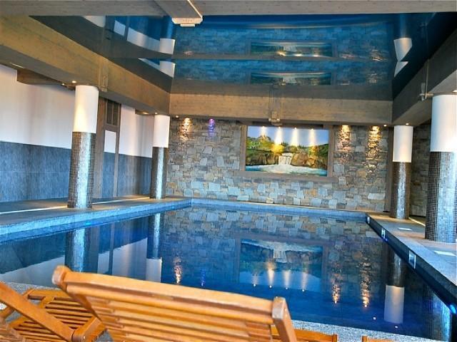 Location au ski Appartement 2 pièces cabine 5 personnes (29 C) - La Residence L'iseran - Les Arcs - Piscine