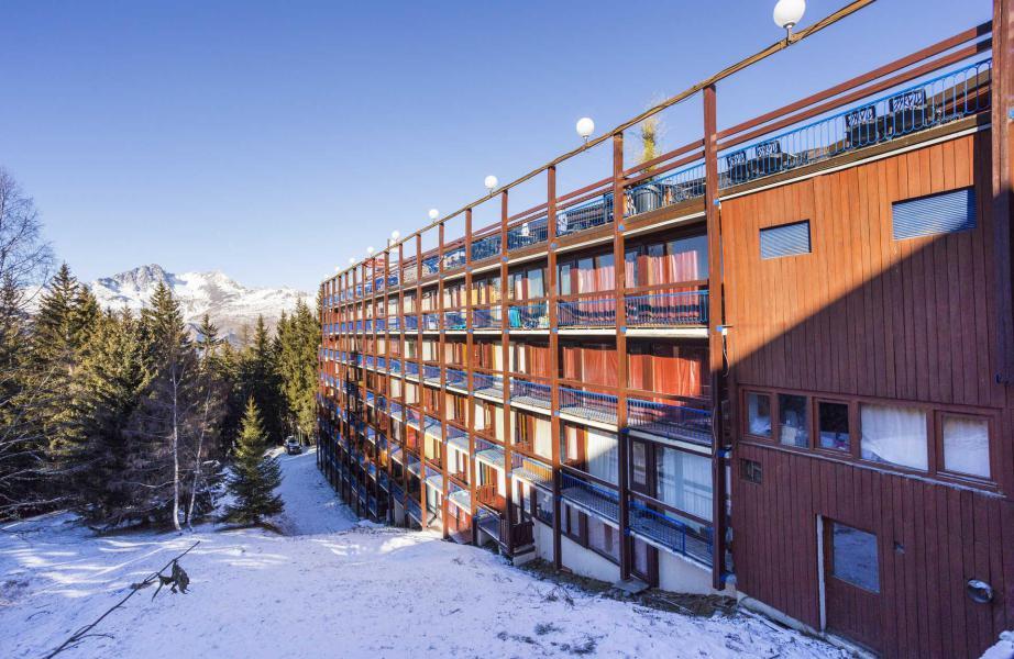 Vakantie in de bergen La Résidence le Miravidi - Les Arcs - Buiten winter