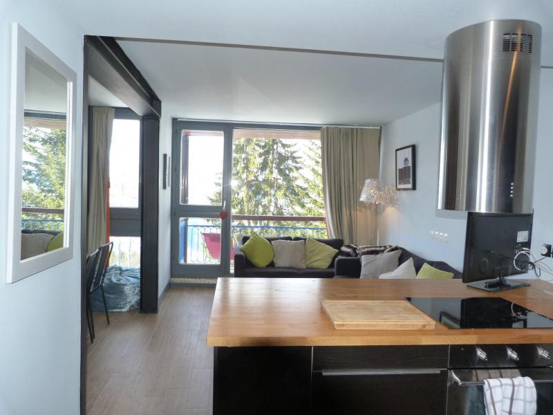 Аренда на лыжном курорте Апартаменты 3 комнат 8 чел. (0210) - La Résidence les Arandelières - Les Arcs - Кухня