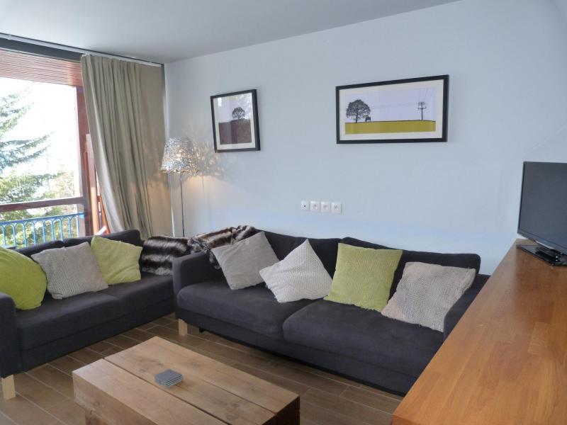 Аренда на лыжном курорте Апартаменты 3 комнат 8 чел. (0210) - La Résidence les Arandelières - Les Arcs - Салон