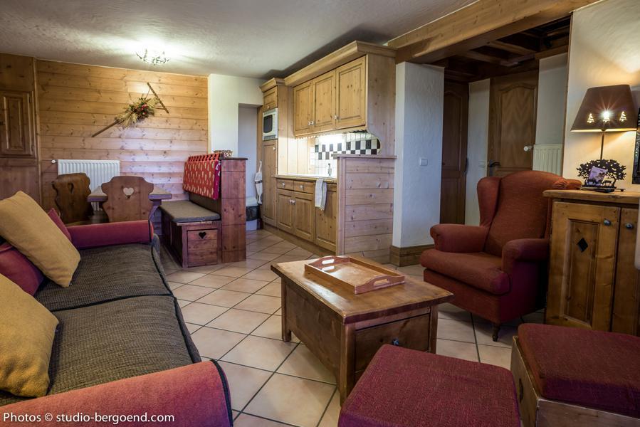 Wynajem na narty Apartament 4 pokojowy 6 osób (4B) - Le Chalet Nature - Les Arcs