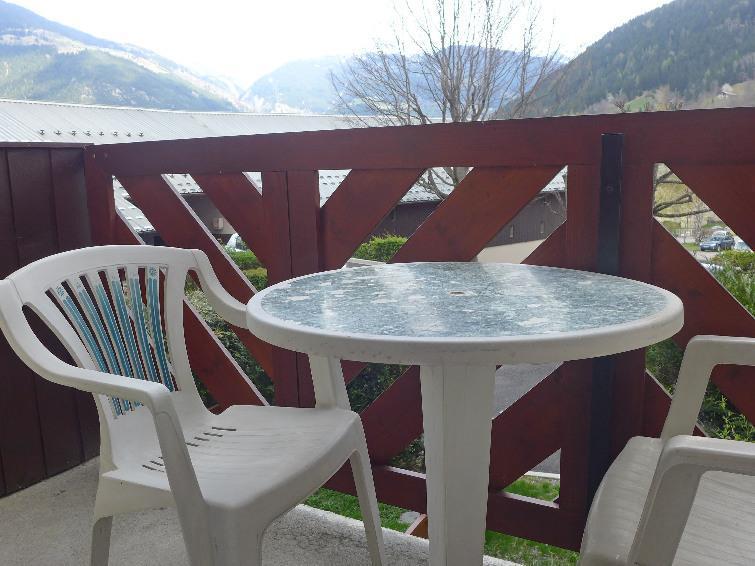 Alquiler al esquí Apartamento 1 piezas para 4 personas (4) - Les Glières - Les Arcs - Balcón