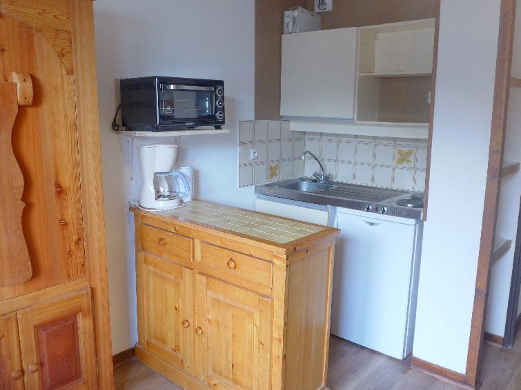 Alquiler al esquí Apartamento 1 piezas para 4 personas (4) - Les Glières - Les Arcs - Cocina