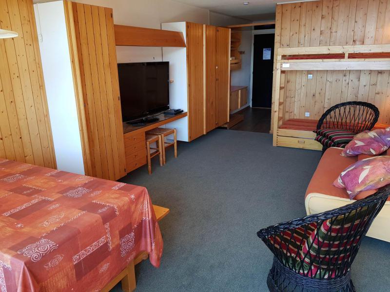 Location au ski Studio 4 personnes (4093) - Résidence Adret - Les Arcs - Séjour