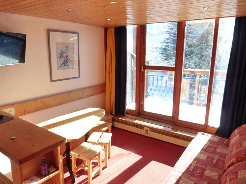 Location au ski Appartement 2 pièces mezzanine 6 personnes (1406) - Résidence Aiguille Grive Bat I - Les Arcs - Canapé