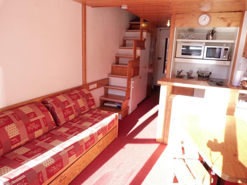 Location au ski Appartement 2 pièces mezzanine 6 personnes (1406) - Résidence Aiguille Grive Bat I - Les Arcs - Séjour