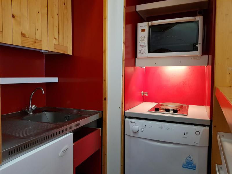 Location au ski Studio coin montagne 4 personnes (616 R) - Résidence Aiguille Rouge - Les Arcs