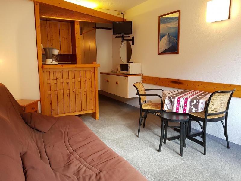 Location au ski Studio coin montagne 4 personnes (406) - Résidence Aiguille Rouge - Les Arcs