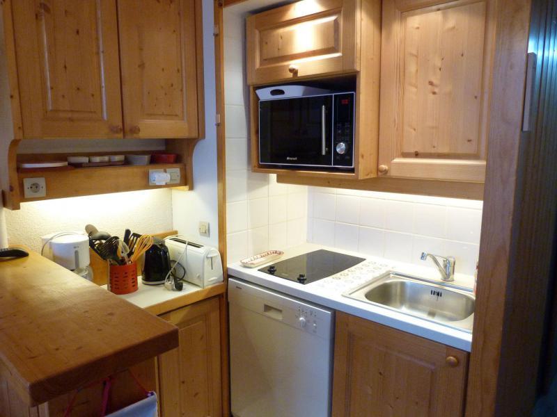 Location au ski Appartement 2 pièces 5 personnes (416) - Résidence Archeboc - Les Arcs - Cuisine