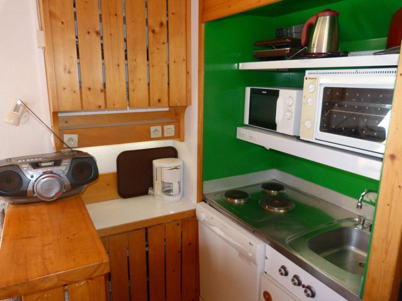 Location au ski Studio 5 personnes (115) - Résidence Archeboc - Les Arcs - Cuisine
