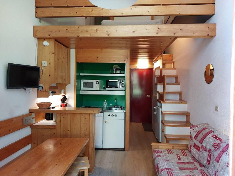 Location au ski Studio coin montagne 5 personnes (111) - Résidence Archeboc - Les Arcs - Appartement