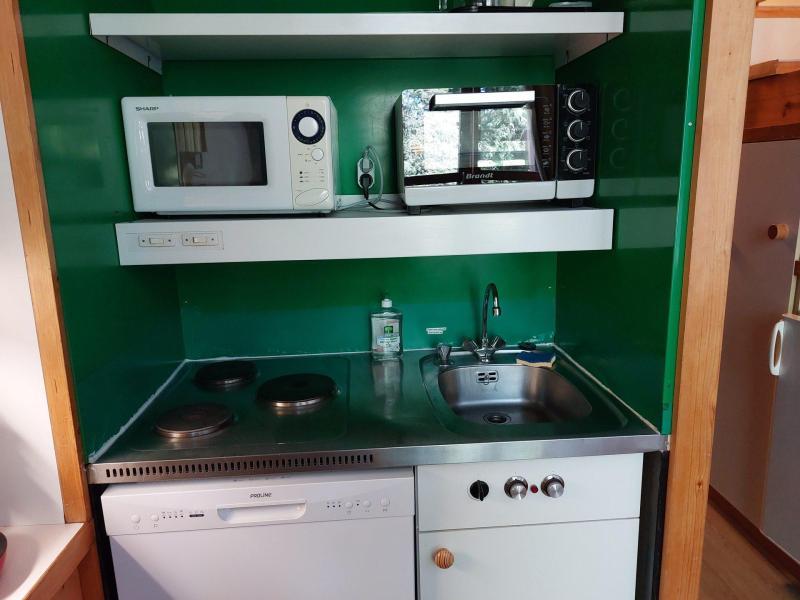 Location au ski Studio coin montagne 5 personnes (111) - Résidence Archeboc - Les Arcs - Cuisine