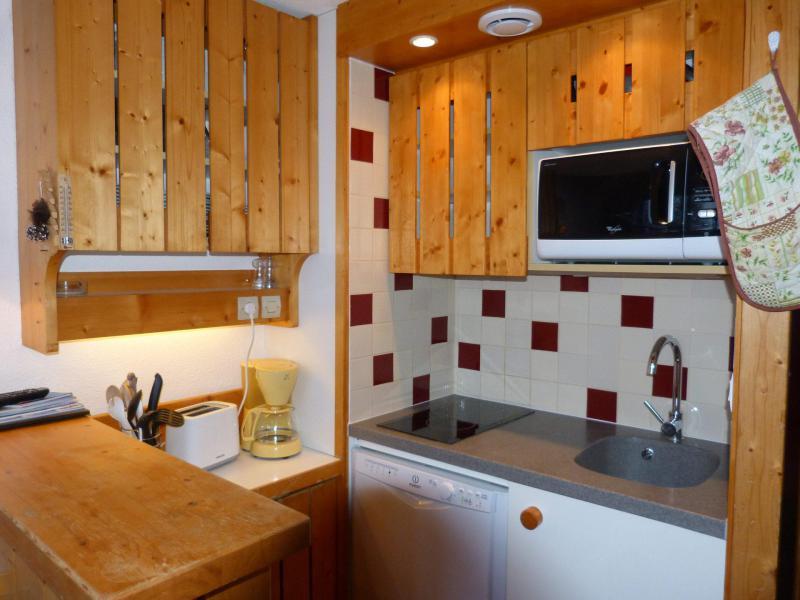 Location au ski Studio mezzanine 5 personnes (425) - Résidence Archeboc - Les Arcs - Cuisine