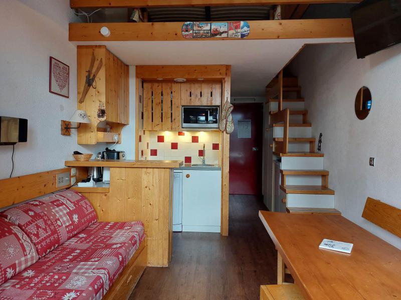 Location au ski Studio mezzanine 5 personnes (425) - Résidence Archeboc - Les Arcs - Séjour