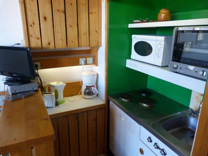 Location au ski Studio mezzanine 5 personnes (510) - Résidence Archeboc - Les Arcs - Cuisine