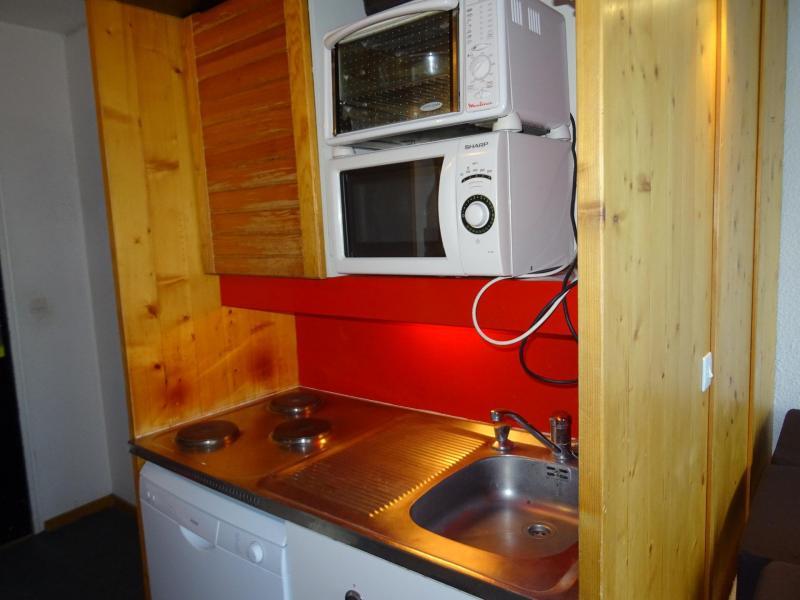Location au ski Appartement 2 pièces 5 personnes (302) - Residence Bellecote - Les Arcs - Cuisine ouverte