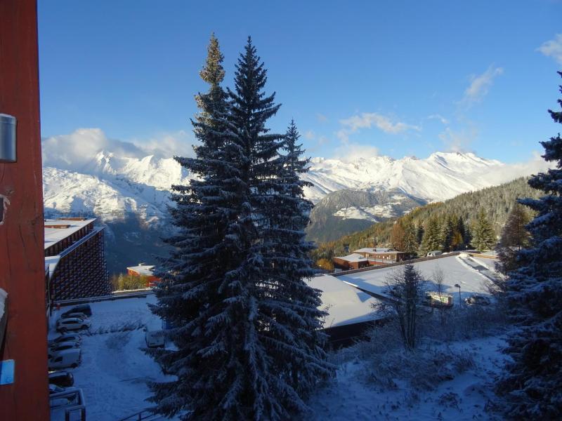 Location au ski Residence Belles Challes - Les Arcs - Extérieur hiver