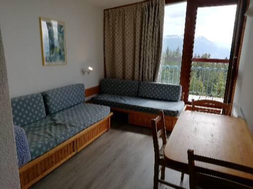 Location au ski Studio coin montagne 4 personnes (1120) - Résidence Belles Challes - Les Arcs
