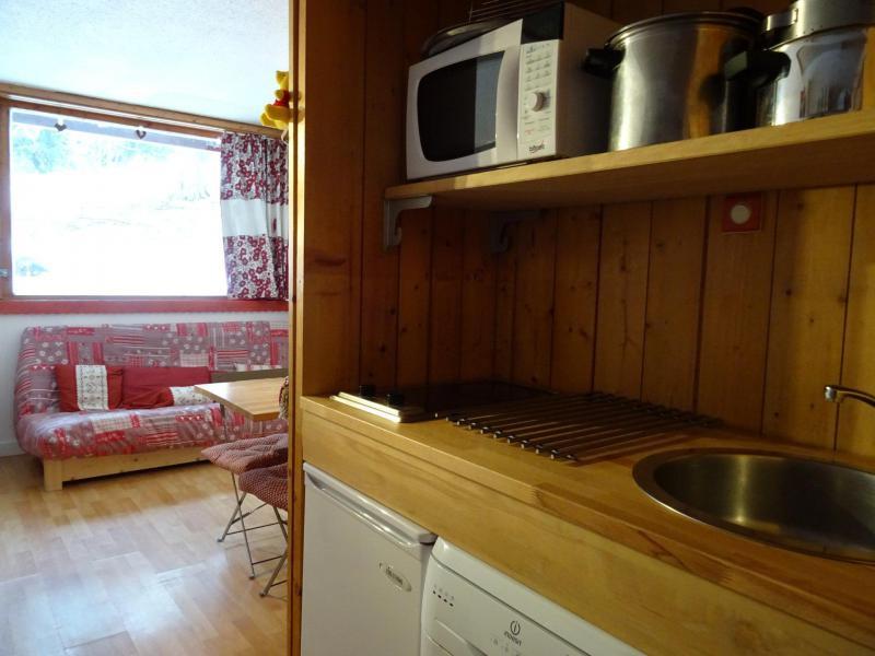 Location au ski Studio 4 personnes (215) - Résidence Belles Challes - Les Arcs