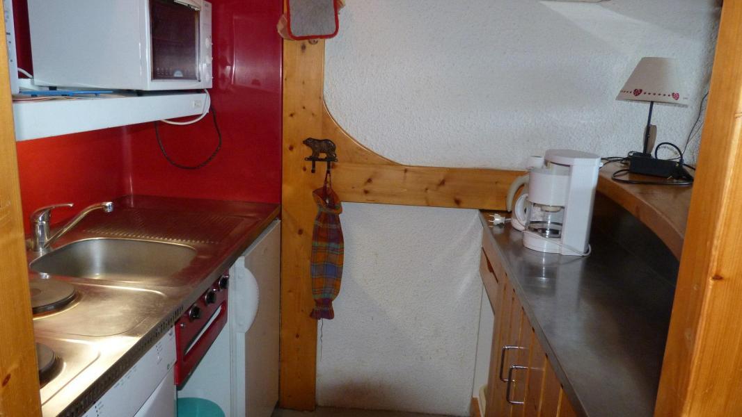 Location au ski Appartement 2 pièces 5 personnes (001) - Residence Bequi-Rouge - Les Arcs - Cuisine