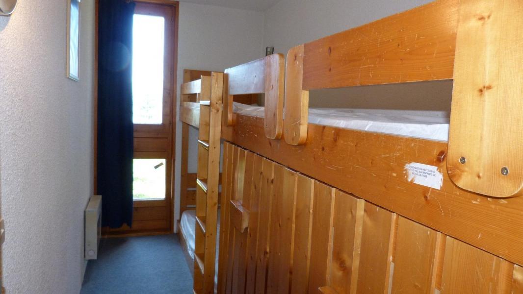 Location au ski Appartement 2 pièces 5 personnes (001) - Residence Bequi-Rouge - Les Arcs - Lits superposés
