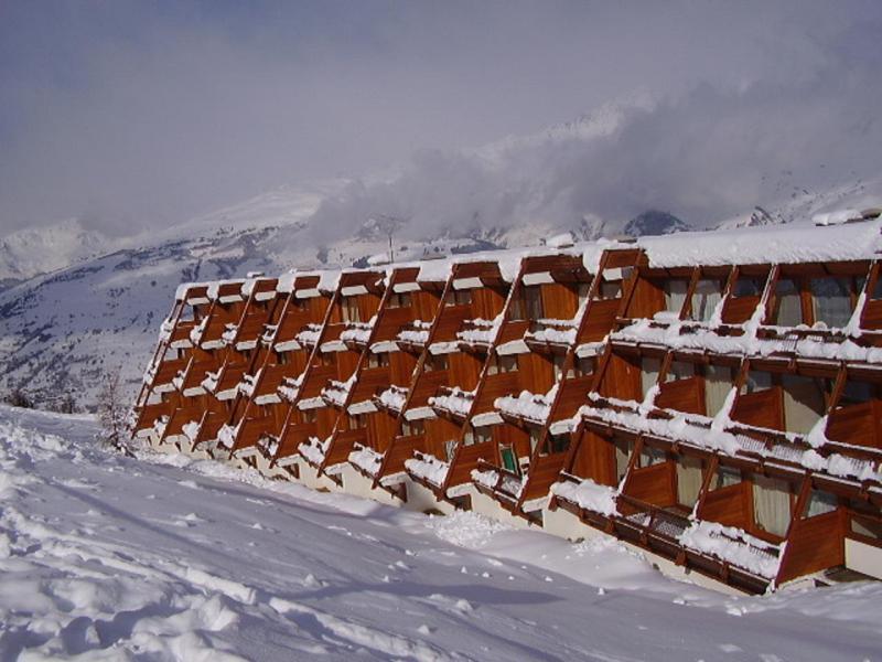 Location au ski Résidence Cachette - Les Arcs - Extérieur hiver