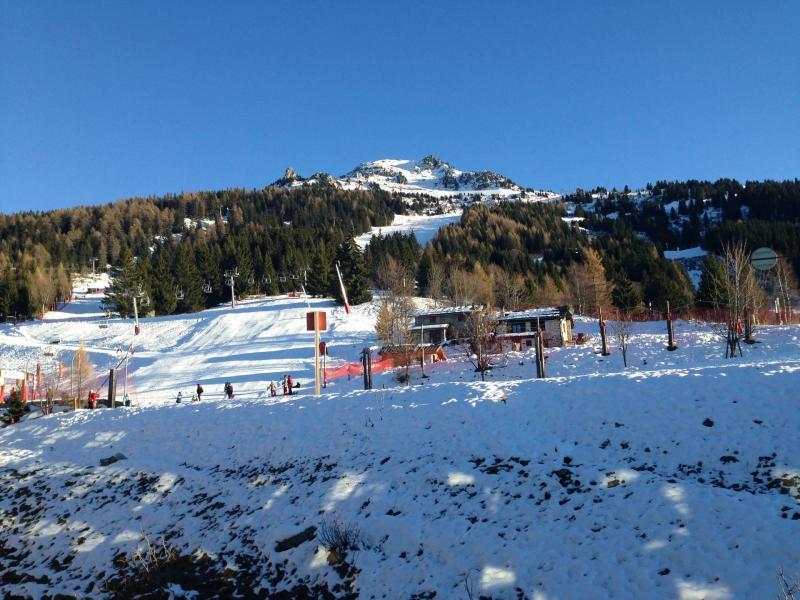 Location au ski Appartement 3 pièces 7 personnes (775R) - Résidence Cachette - Les Arcs - Extérieur hiver