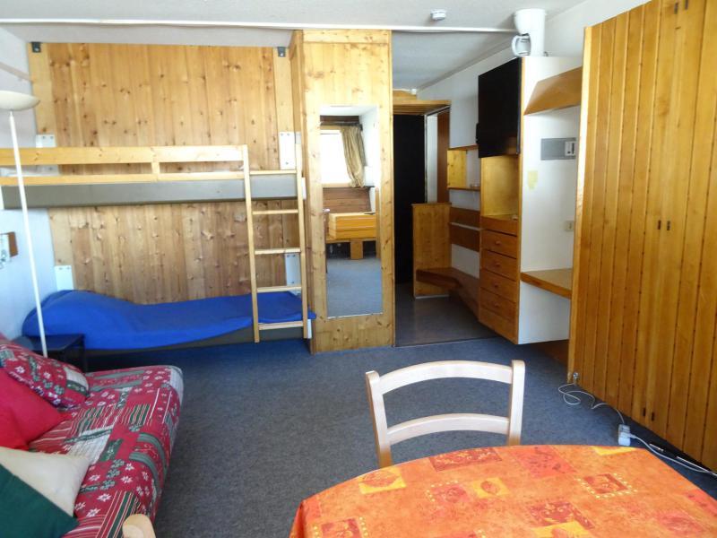 Location au ski Studio 4 personnes (554) - Résidence Cascade - Les Arcs - Séjour