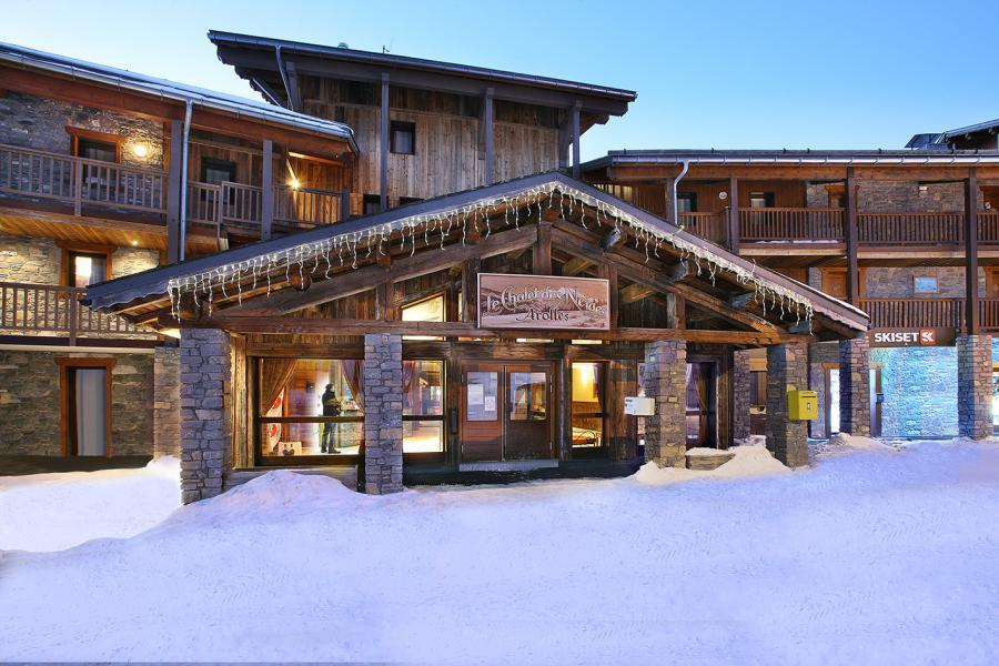 Ski verhuur Résidence Chalet des Neiges Arolles - Les Arcs - Buiten winter