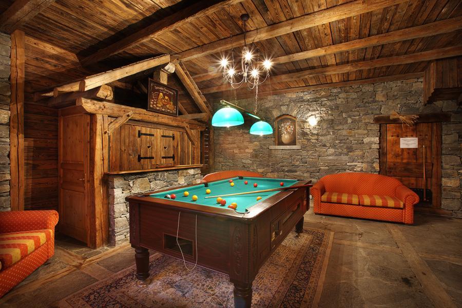 Location au ski Residence Chalet Des Neiges Arolles - Les Arcs - Billard