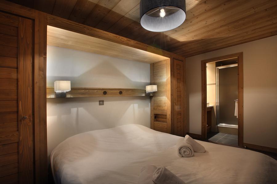 Ski verhuur Résidence Chalet des Neiges Arolles - Les Arcs - Kamer