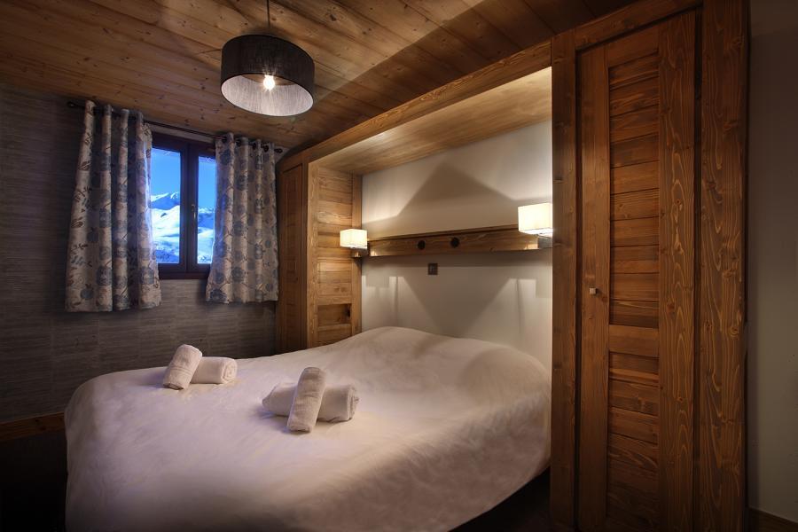 Skiverleih Résidence Chalet des Neiges Arolles - Les Arcs - Schlafzimmer