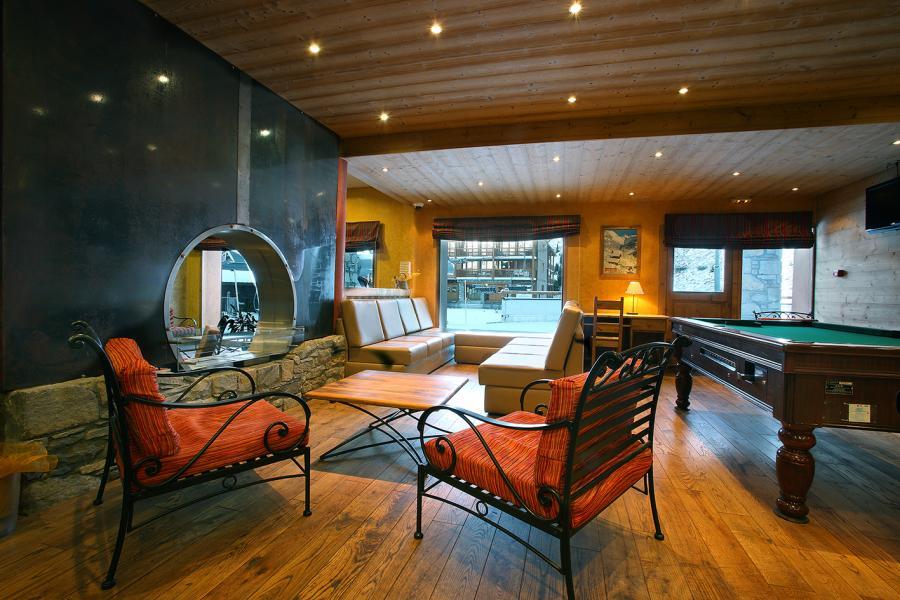 Location au ski Résidence Chalet des Neiges Cîme des Arcs - Les Arcs - Réception