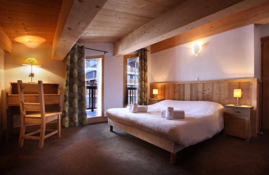 Location au ski Résidence Chalet des Neiges Cîme des Arcs - Les Arcs - Chambre