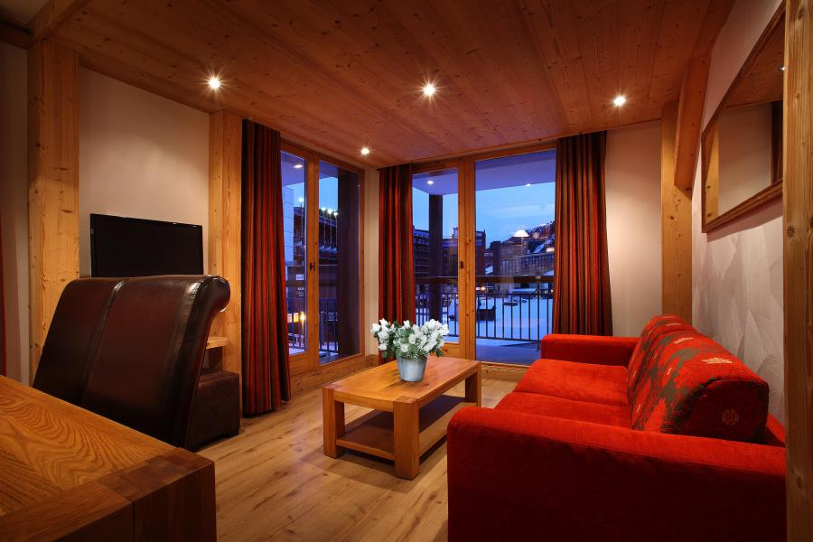 Rent in ski resort Résidence Chalet des Neiges Cîme des Arcs - Les Arcs - Living room